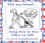 Did you know being face to face helps me talk