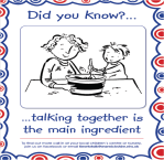 Did you know talking together is the main ingredient