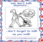 We don't talk any more - don't forget to talk as you walk