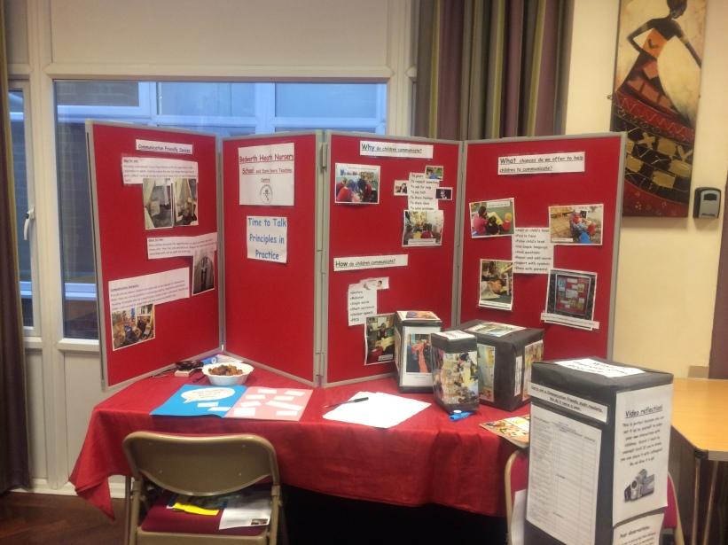 Bedworth Heath Nursery School Display