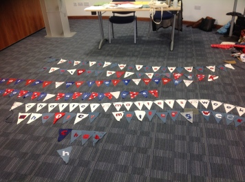 Different types of bunting made by champions.jpg