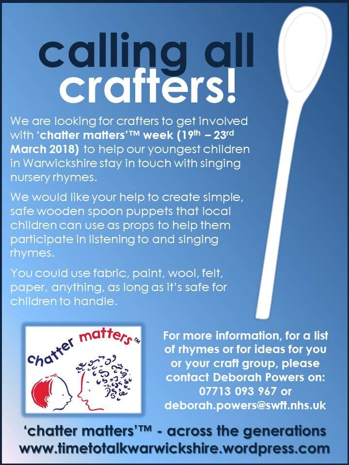 Calling all Crafters Flyer